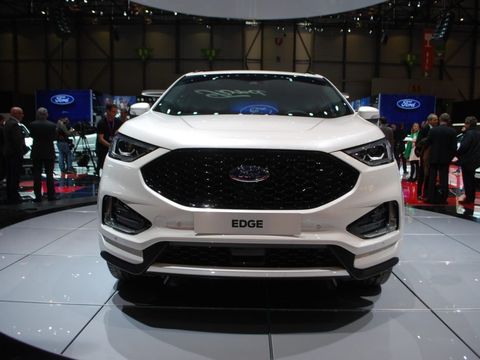 Ford Edge restyling frontale - Ginevra 2018