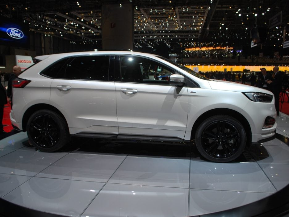 Ford Edge restyling profilo - Ginevra 2018