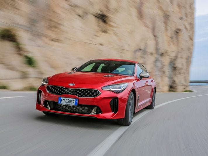 Kia Stinger 'Best of the Best' ai Red Dot Awards