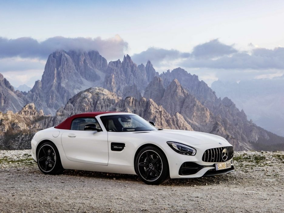Mercedes GT AMG Roadster chiusa