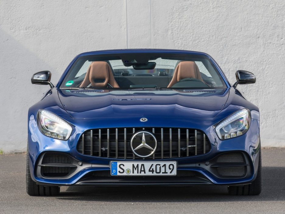 Mercedes GT AMG Roadster frontale