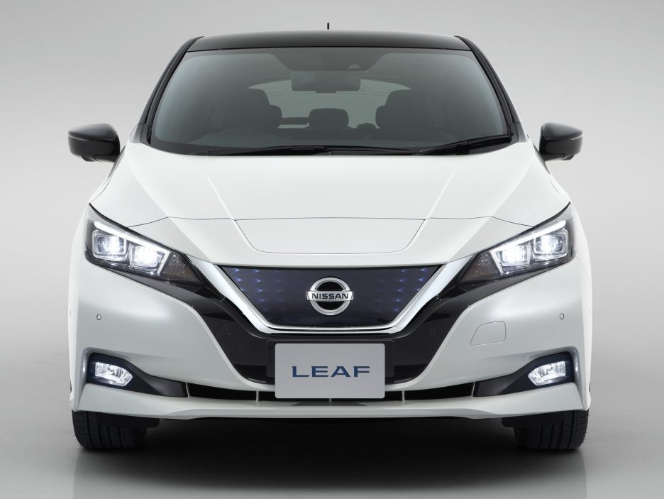 Nissan Leaf frontale