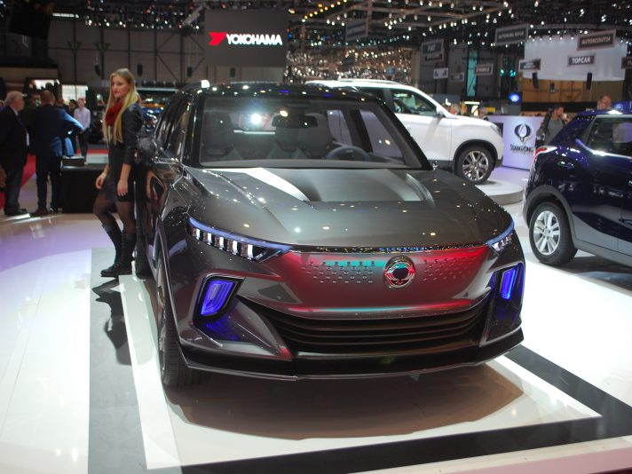Ssangyong 2018 a Ginevra: SUV elettrico e pick-up Musso