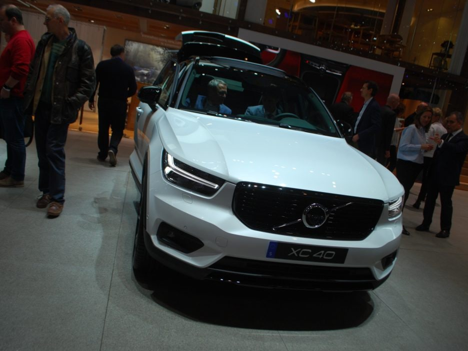 Volvo XC40 frontale - Ginevra 2018