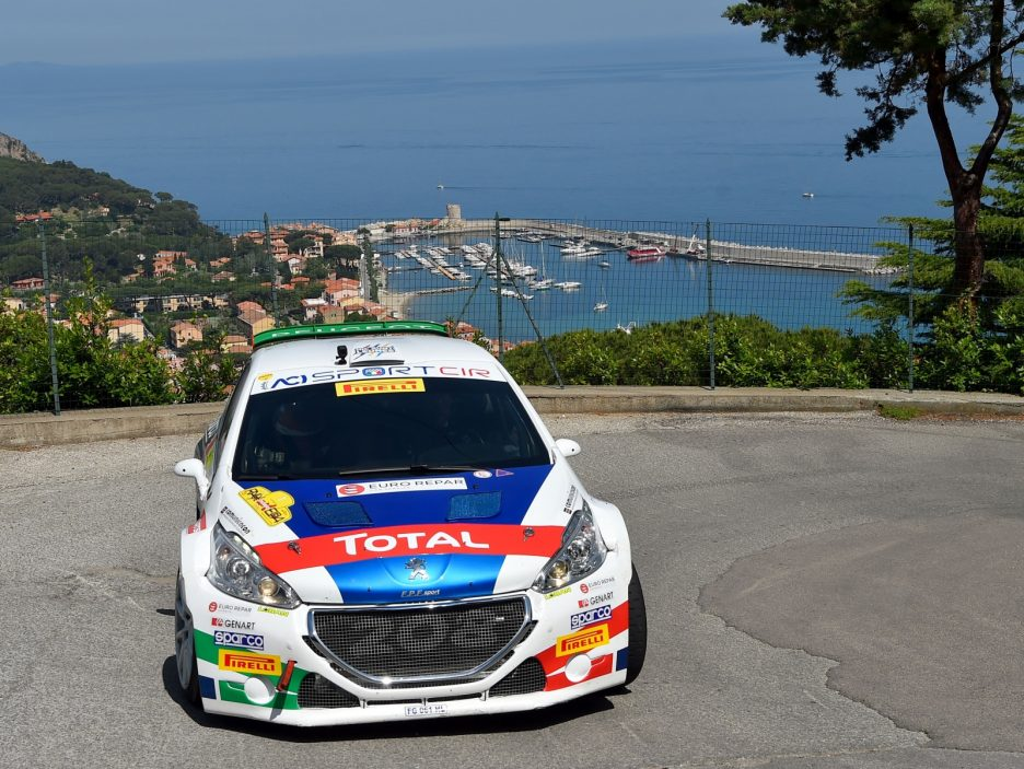 Paolo Andreucci, Anna Andreussi (Peugeot 208T16 R5 #1, FPF Sport)