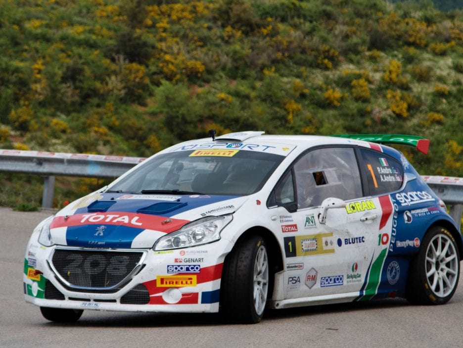 Paolo Andreucci, Anna Andreussi (Peugeot 208 T16 R5 #1, FPF Sport)