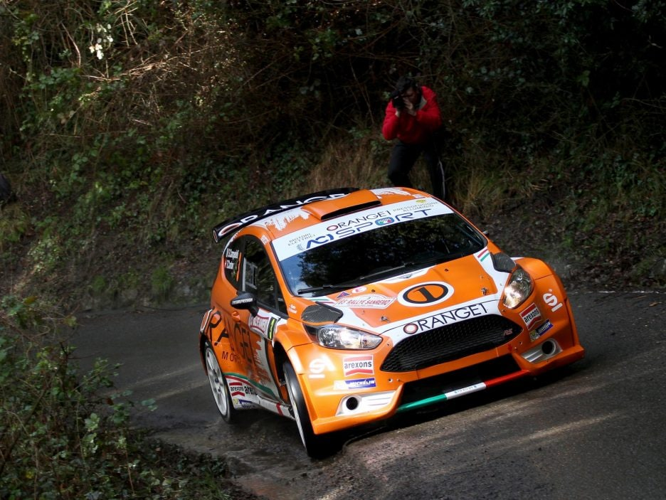 Simone Campedelli, Tania Canton (Ford Fiesta R5 #3, Orange1 Racing)