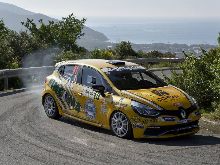 Riccardo Canzian,Andrea Prizzon (Renault Clio R3T #31, Winners Rally Team)