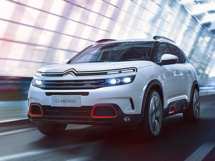Citroen C5 Aircross: pronto lo sbarco in Europa