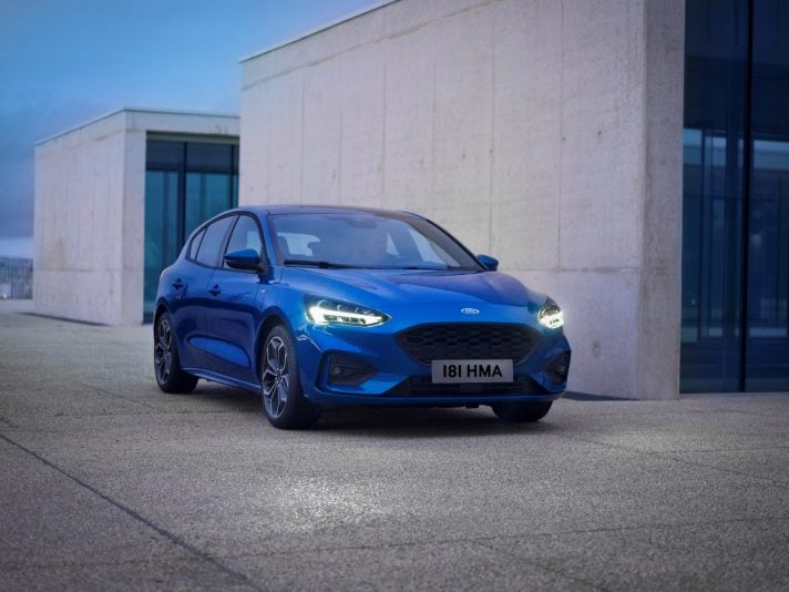 Ford Focus a Company Car Drive 2018