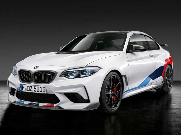 BMW M2 Competition: gli accessori M Performance