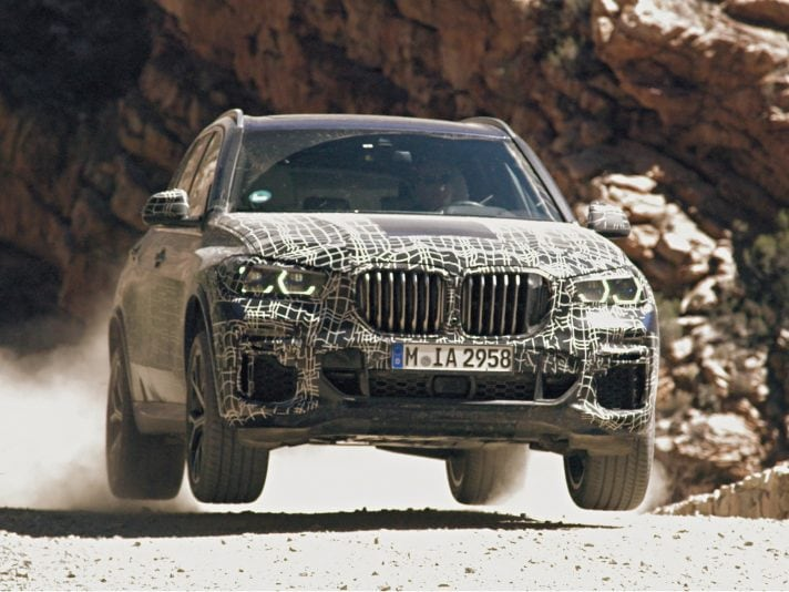 BMW X5 2019: i test finali