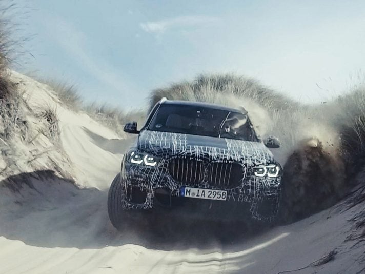 BMW X5 2019, il primo video
