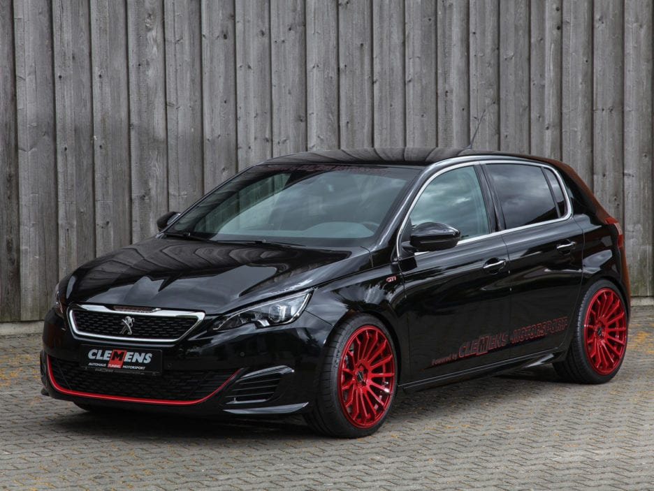 peugeot 308 gti by clemens tuning panoramauto. Black Bedroom Furniture Sets. Home Design Ideas