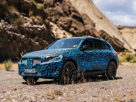 Mercedes-Benz EQC heat testing In Spain // Mercedes-Benz EQC Hitzeerprobung in Spanien