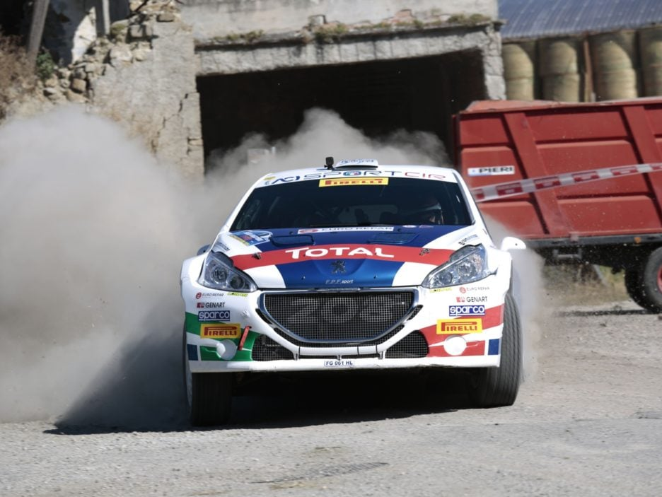 Paolo Andreucci, Anna Andreussi (Peugeor 208 R5 #1, FPF Sport)