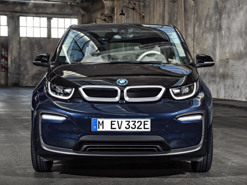BMW i3 restyling frontale