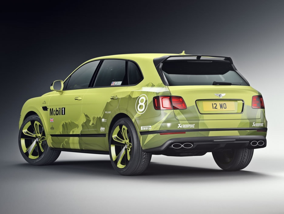 Bentayga Pikes Peak Limited Edition - Exterior with Record Breaker