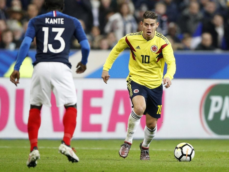 France vs Colombia