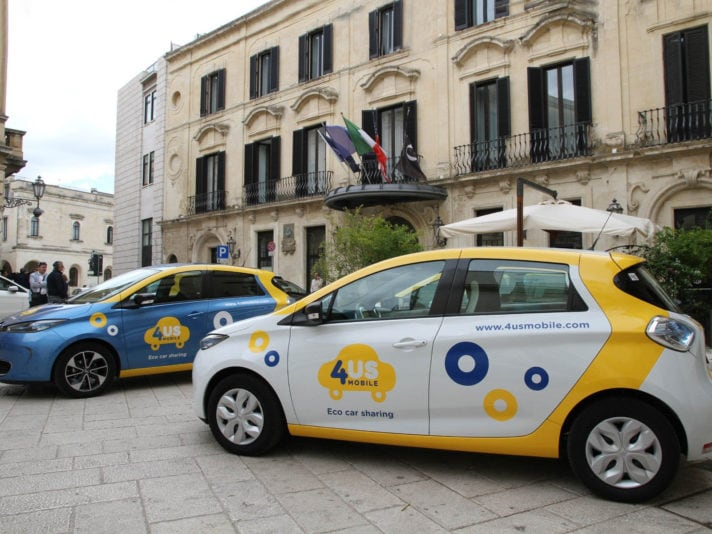 4Us Mobile: il car sharing di Renault in Salento