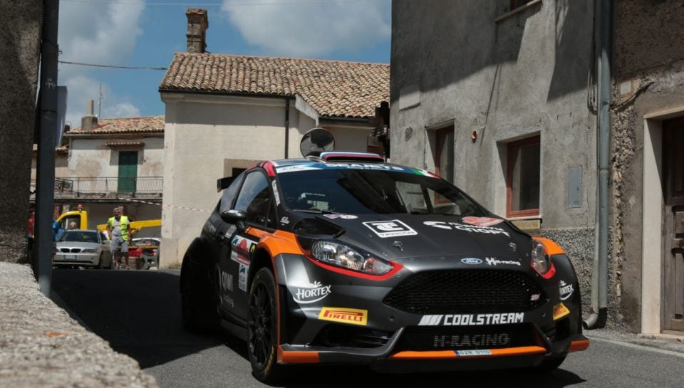 Lukyanuk (Ford Fiesta) vince il Rally Roma 2018