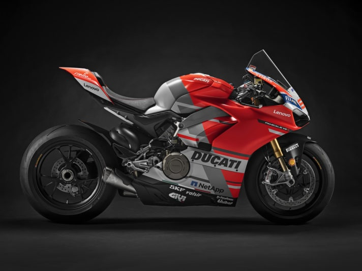 "All'asta le Panigale V4 ""Race of Champions"" al WDW 2018"