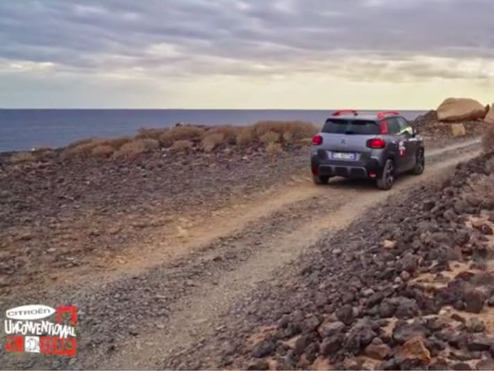 Il Citroën Unconventional Team in viaggio a Tenerife