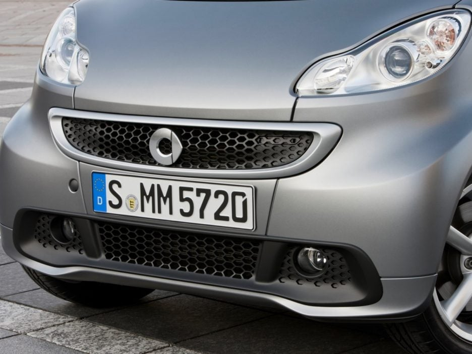 Smart fortwo mascherina