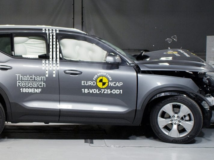 Crash test Euro NCAP: 5 stelle per Volvo XC40 e Ford Focus