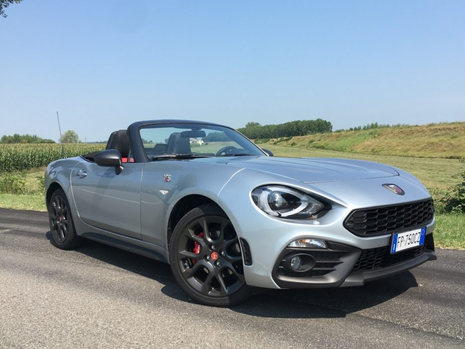Abarth 124 Spider - La prova in pista