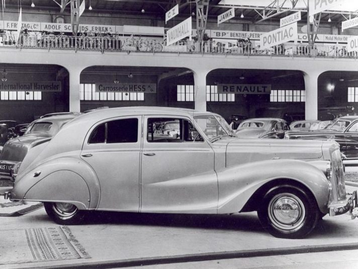Austin A135 Princess (1947): lusso accessibile