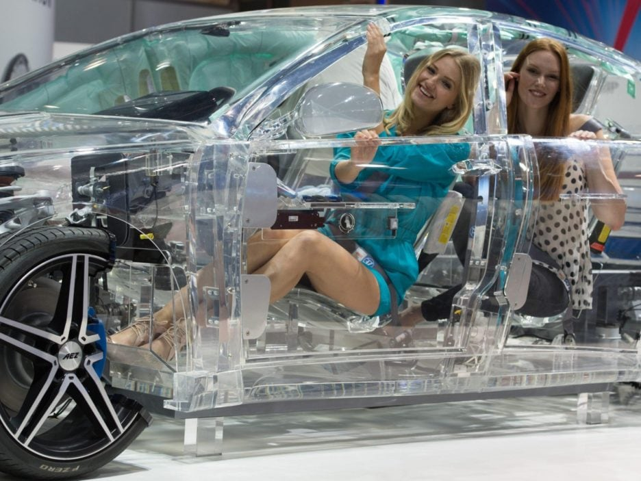 Automechanika fair in Frankfurt