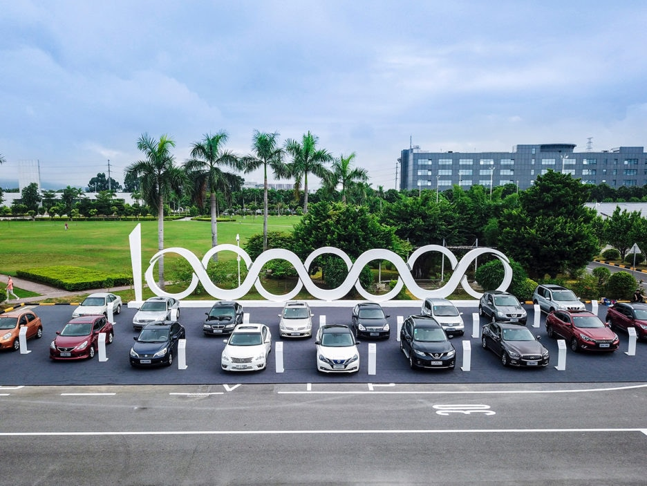 Dongfeng Nissan begins production of Sylphy Zero Emission electr