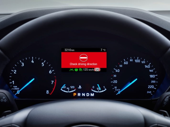 Ford introduce il Wrong Way Alert sulla nuova Focus
