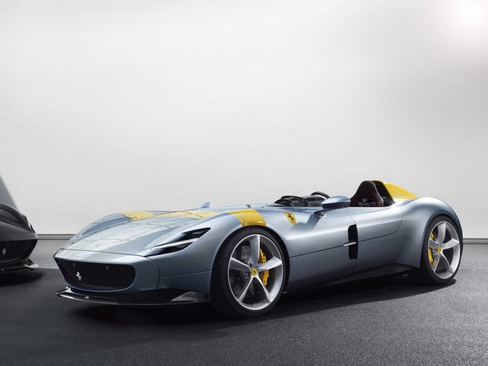 Ferrari Monza SP1 e SP2, il video