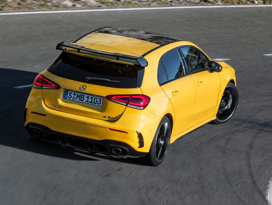Der neue Mercedes-AMG A 35 4MATIC: Neuer Einstieg in die Welt der Driving PerformanceThe new Mercedes-AMG A 35 4MATIC: New entry-level model opens up the world of driving performance
