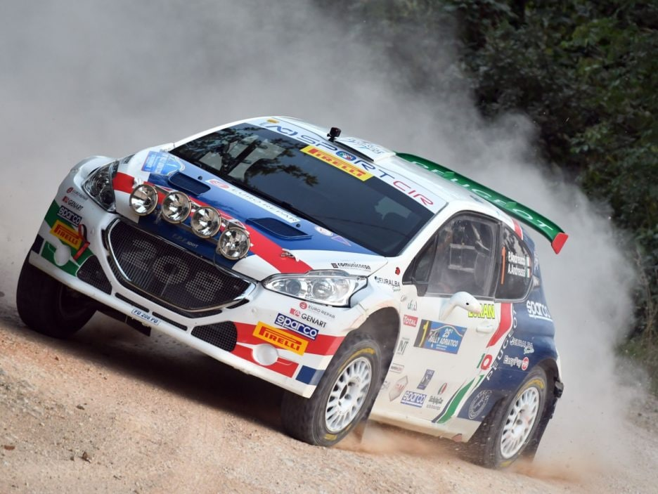 Paolo Andreucci, Anna Andreussi (Peugeot 208 T16 R5 #1, FPF)