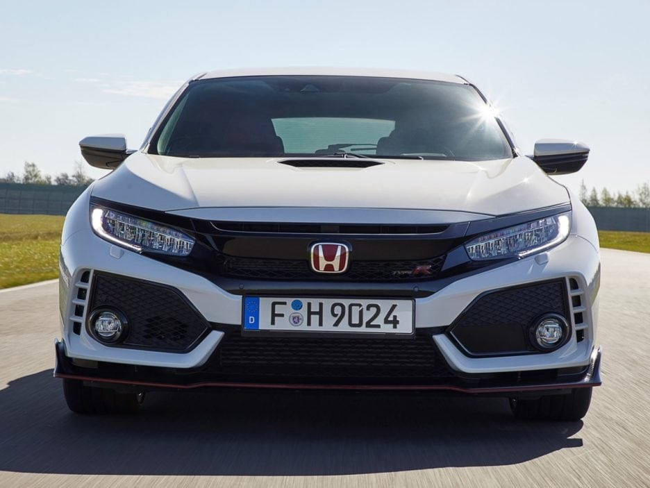Honda Civic Type-R frontale
