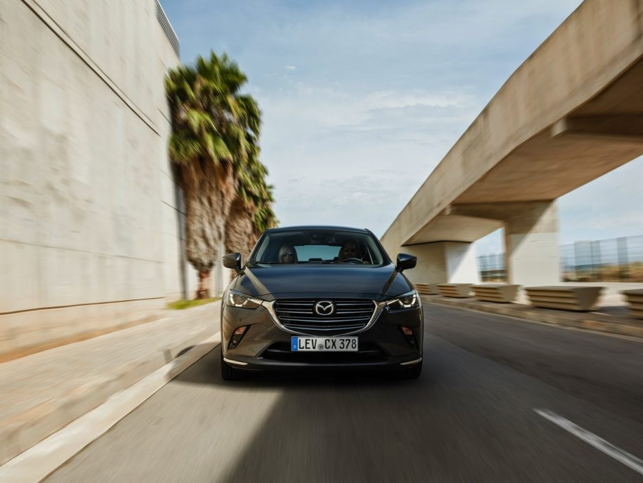 Mazda CX-3 restyling frontale