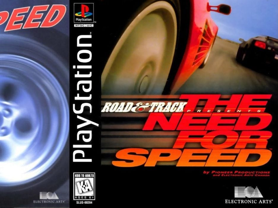 need for speed copertina