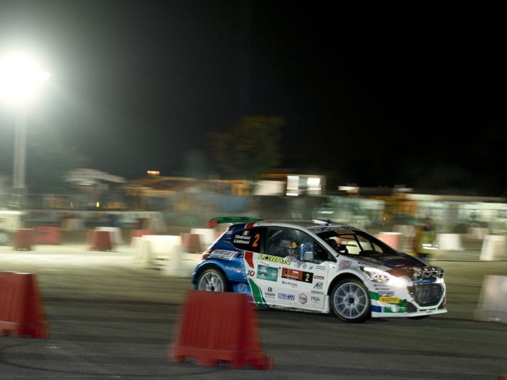 Paolo Andreucci, Anna Andreussi (Peugeot 208 T16 R5 #2, FPF Sport)