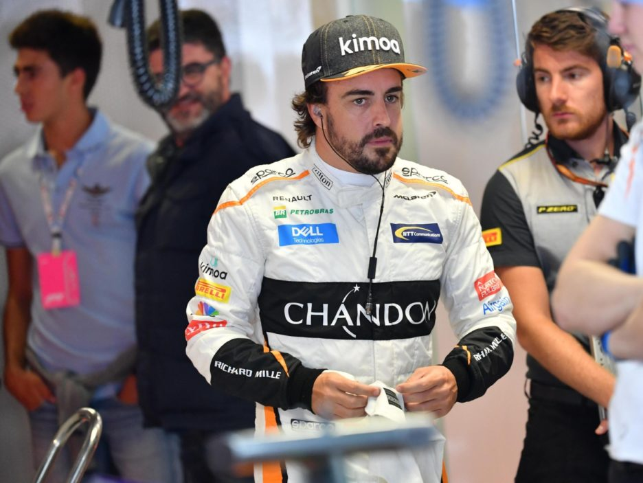 Formula1:First practice session