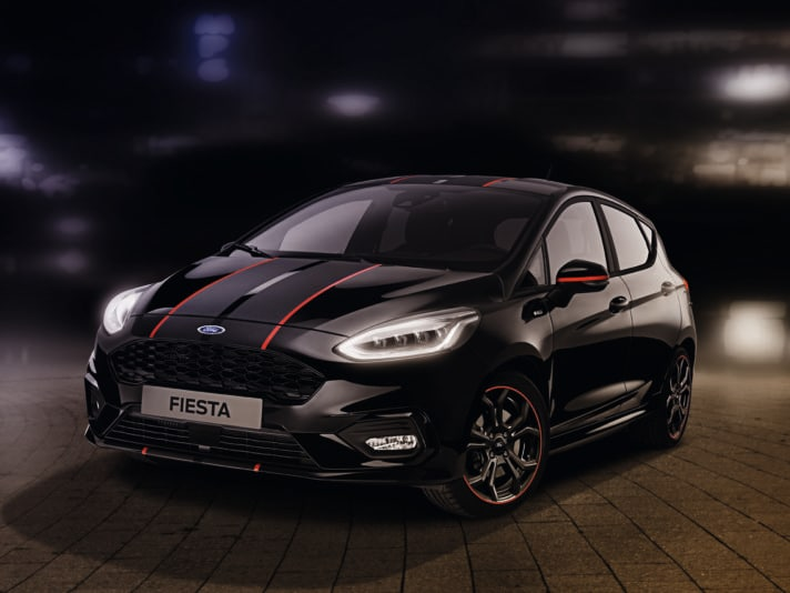 Ford Fiesta Red & Black Edition