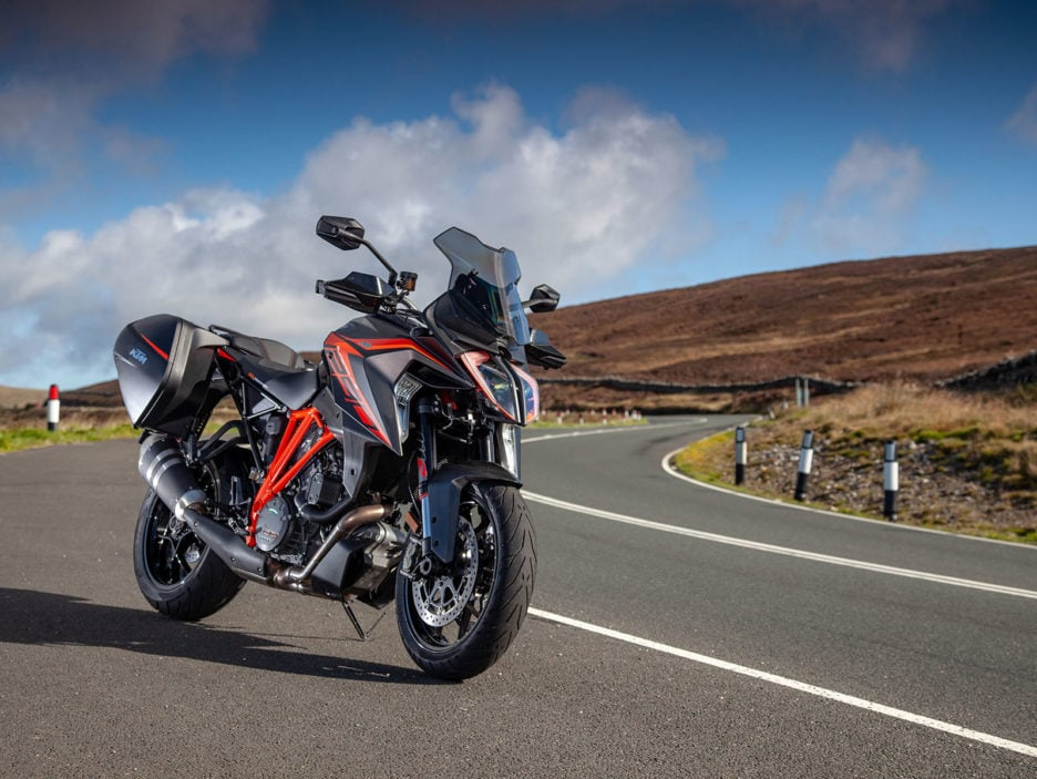 KTM 1290 SUPER DUKE GT at TT Isle of Man