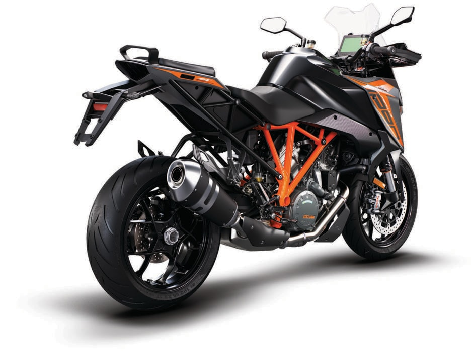 KTM 1290 SUPER DUKE GT black