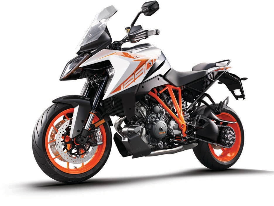 KTM 1290 SUPER DUKE GT white