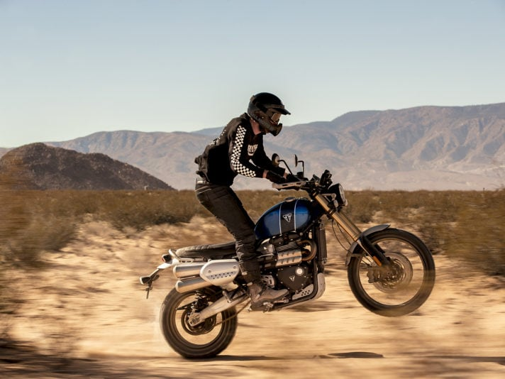 Triumph 1200 Scrambler XC e XE 2019, il video
