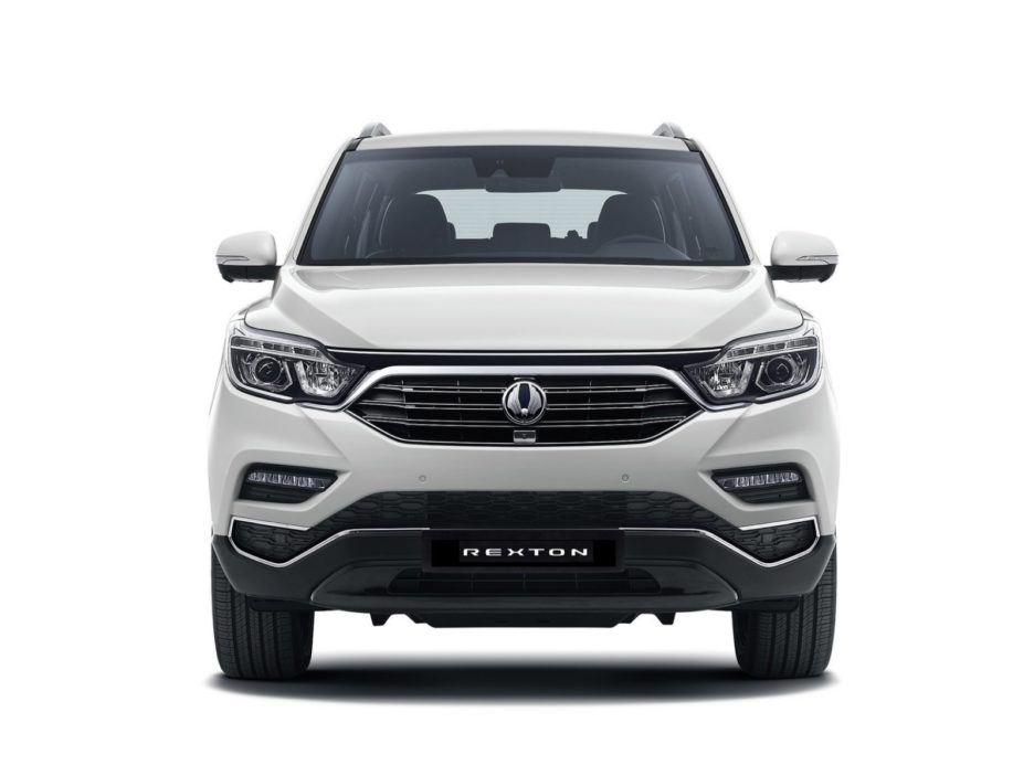 Ssangyong Rexton frontale