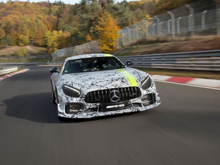 Mercedes-AMG GT Pro: il debutto a Los Angeles
