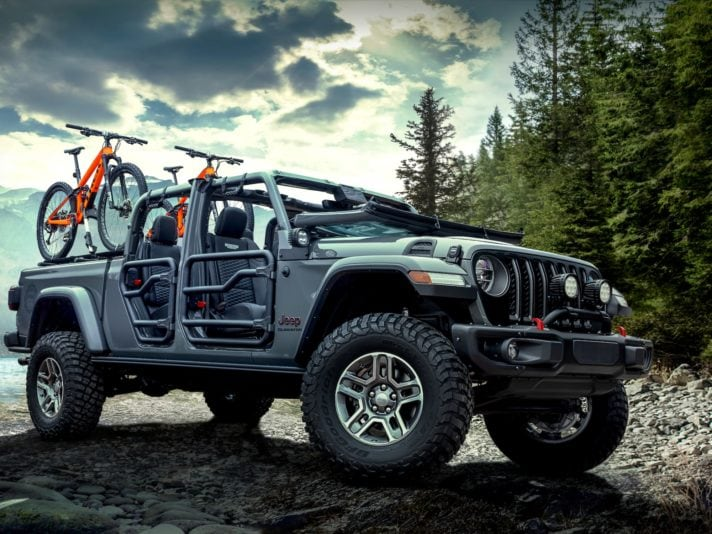 Jeep Gladiator: i 20 accessori Mopar più interessanti